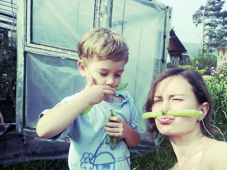 Summer ☀ Me My Little Brother ❤ аунасгороховыеусы