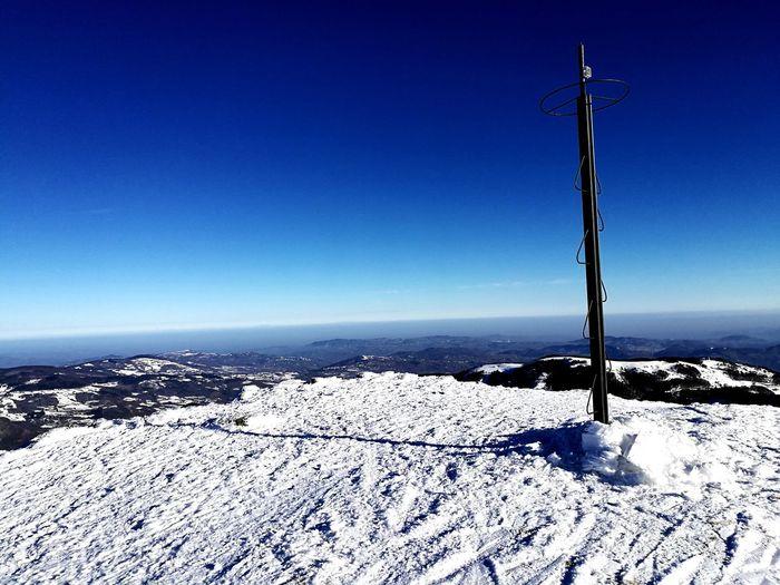 Skiing ❄ Cimonesci Cimone Ski Sci Snow Snow ❄ Neve Montagna Montains    Cielo Sky Altezza CIMA Monte Panorama