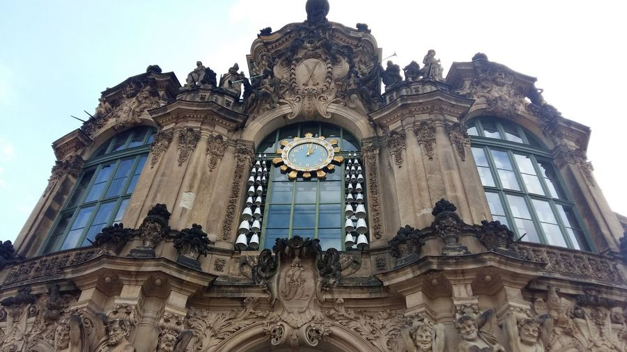 Zwinger #Dresden City Sculpture Place Of Worship Statue History Window Sky Architecture Façade Place Of Interest