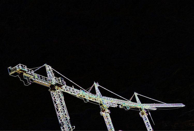 Black Background Crain EyeEm Gallery Detail Steel Structure  Construction Machinery The Week On EyeEm Berlin Photography Colourart Artphotography No People EyeEm Best Shots Crainspotting Crains Close-up Streetphotography Streetart