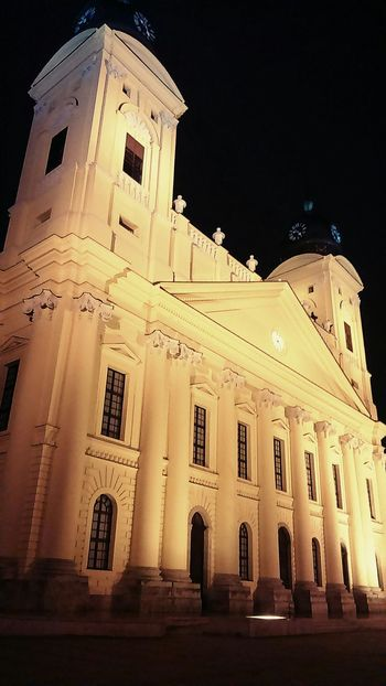 Debrecen Night Hungary Big Temple Saturday Friends Mood Nice Day Fantastic