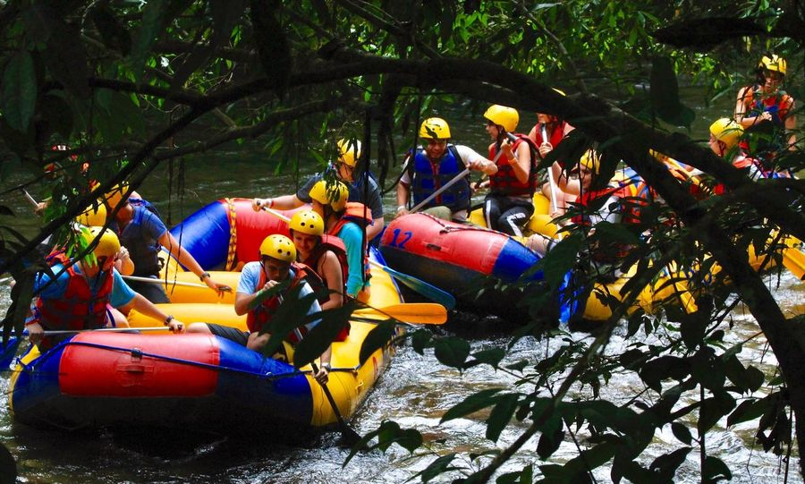 Sport Adventure People Multi Colored Nature Water