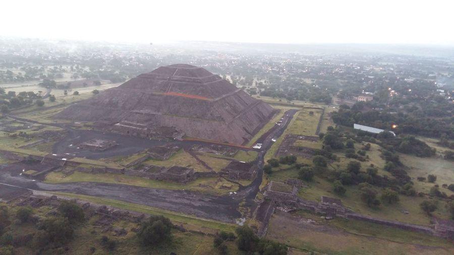 Piramides en ciudad Mexico