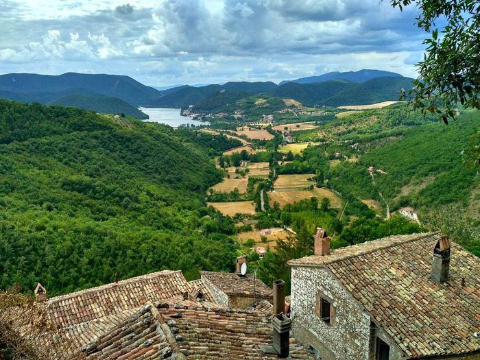 Rieti, Italy Labro Rural Scene Scenics No People Day Landscape Green Color Sky Outdoors Nature Cloud - Sky Borgo Antico