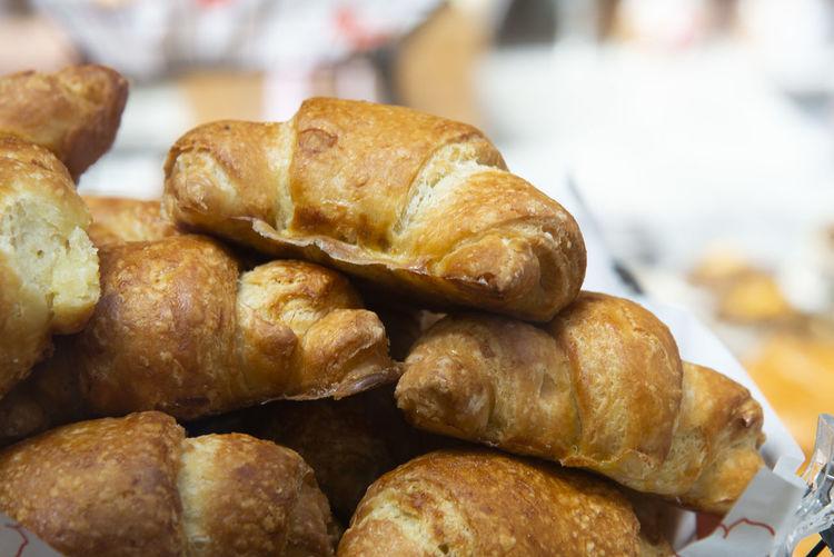 Bread on market shelf