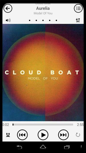 Cloud Boat Model Of You Aurelia <3