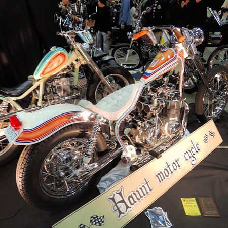 Yokohama hotrod custom show 2013 Hcs2013 Honda CB750 Chopper bobber