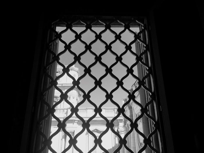 Window Basilica Di San Pietro Rome Vatican City