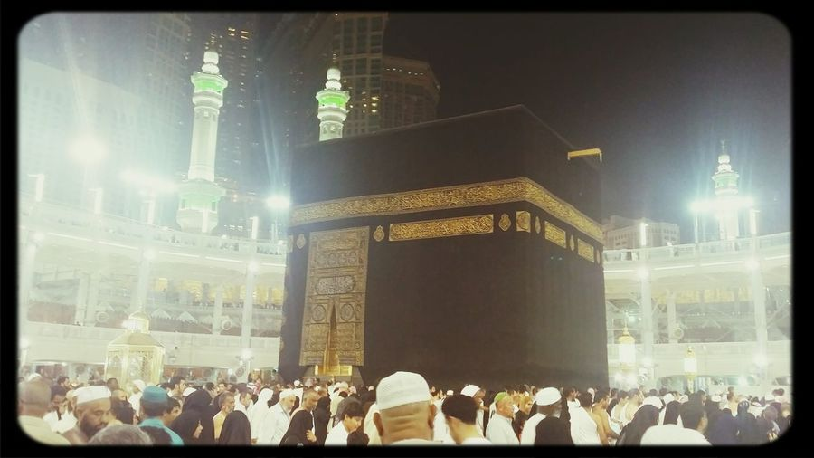 AllahuAkbar Masjid Al-Haram المسجد الحرام Kaabah House Of Allah