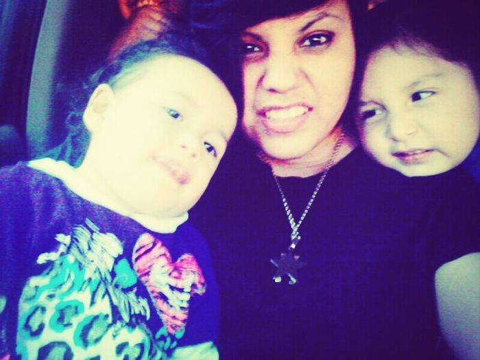 Our silly faces tho!(: