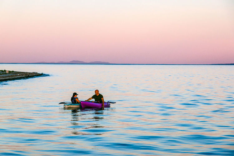 Evening Paddle at Goose Spit Adult Adults Only Beauty In Nature Day Friendship Goose Spit Kayak Kayaking Nature Nautical Vessel Outdoors People Reflection Rowing Scenics Sea Sky Teamwork Togetherness Transportation Travel Destinations Two People Vacations Water
