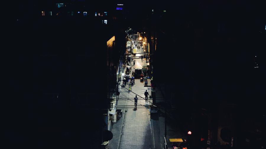 Inside the city