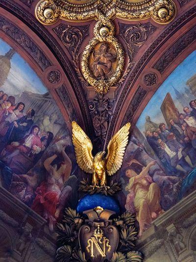 Golden eagle in