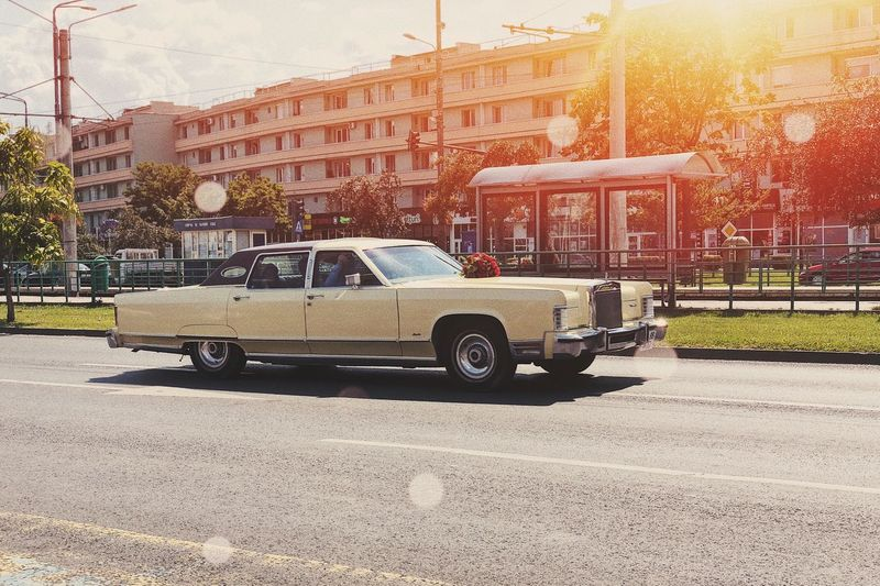 A legend on wheels: Lincoln Continental 🚙... Sunny Historic Car Drive Speed City Urban Retro Car Classic Car Luxury Vintage Car Asphalt Road Asphalt Continental Limousine Limo Retro Vintage Lincoln Mode Of Transportation Transportation Motor Vehicle Car Land Vehicle City Sunlight Street Building Exterior Architecture Built Structure Road Capture Tomorrow