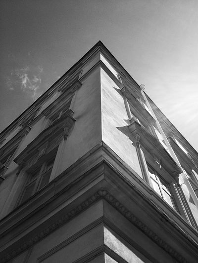 Architecture Blackandwhite Architectural Detail The Sky Is The Limit