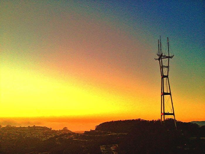 Sunset Sutro Sunset Reach 4 The Sky 25 Days Of Summer
