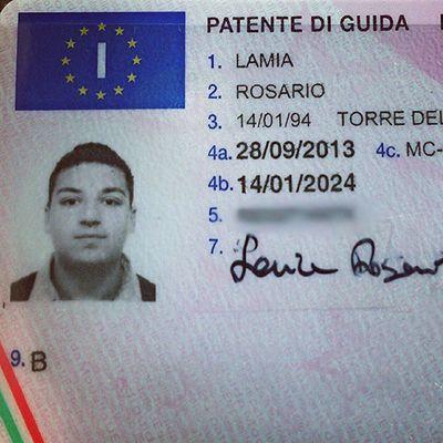 Patente ERA Ora 2013 settembre scuola guida Italia Europa rosa