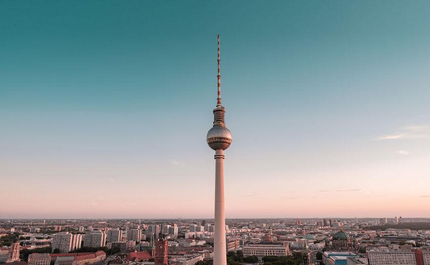 TV tower at