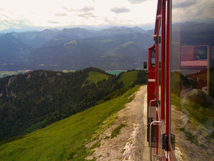 Trip Train Hills Panorama On The Way The Journey Is The Destination Railway Schafbergbahn Rack Railway Schafberg Wolfgangsee Green Grass Locomotive Alps Austria Travel Travel Photography Showcase July Eyeemphoto Miles Away Let's Go. Together.