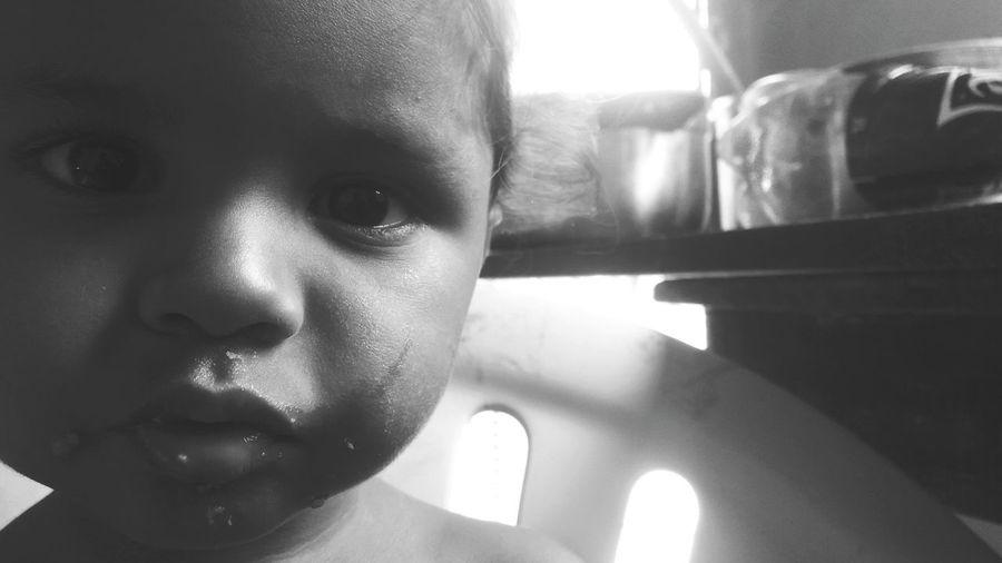 A pureza do olhar de uma criança!