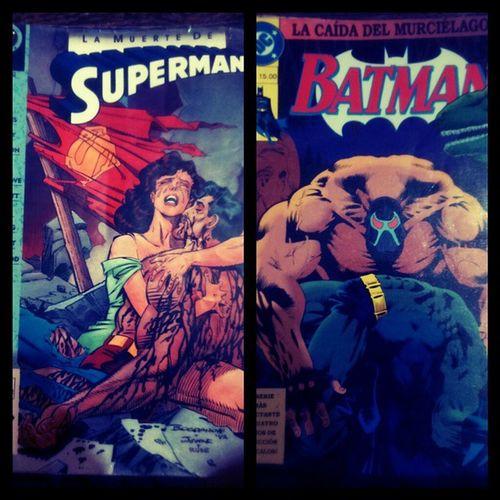 Si leyeron estos comics en su infancia, ya estan viejos. Lamuertedesuperman LaCaidaDelMurcielago Dccomics 1993 Comics 15nuevosPesos