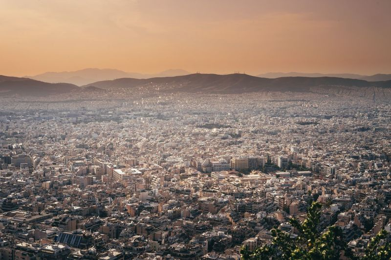 Athens, Greece Sightseeing Lycabettus Sundowner Time