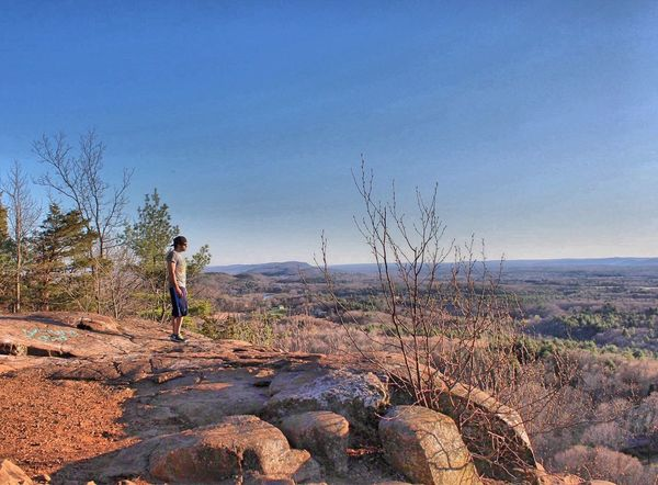 You take the low road - I'll take the high road Mountains Summit Hike Hiking Hikingadventures Exploring Connecticut Newengland Share Your Adventure Beautiful Beautiful Day Beautiful Nature Beautiful View View Views That's Me Check This Out Spring Spring2016 April Showcase April 2016