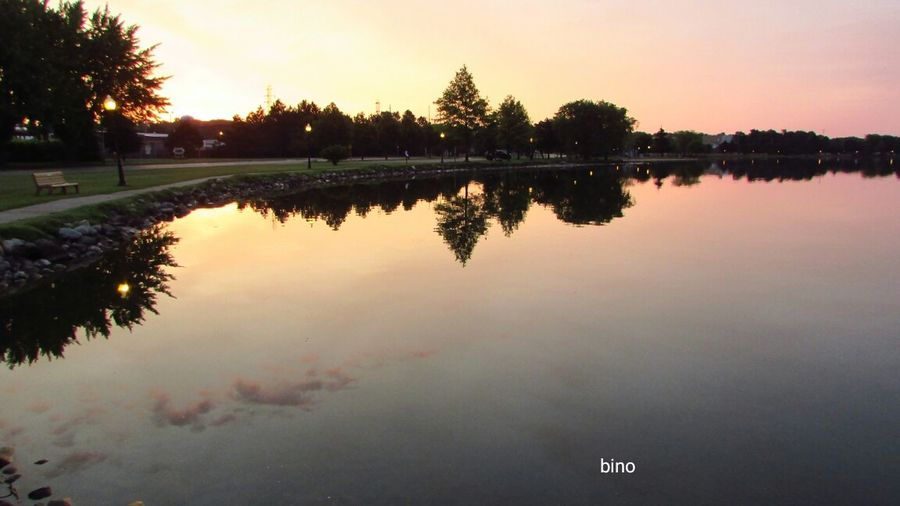 Early Outing Dawn Of A New Day Around The Lake Stillness In Time Tranquil Scene Cool Reflection Lake Cadillac Pure Michigan