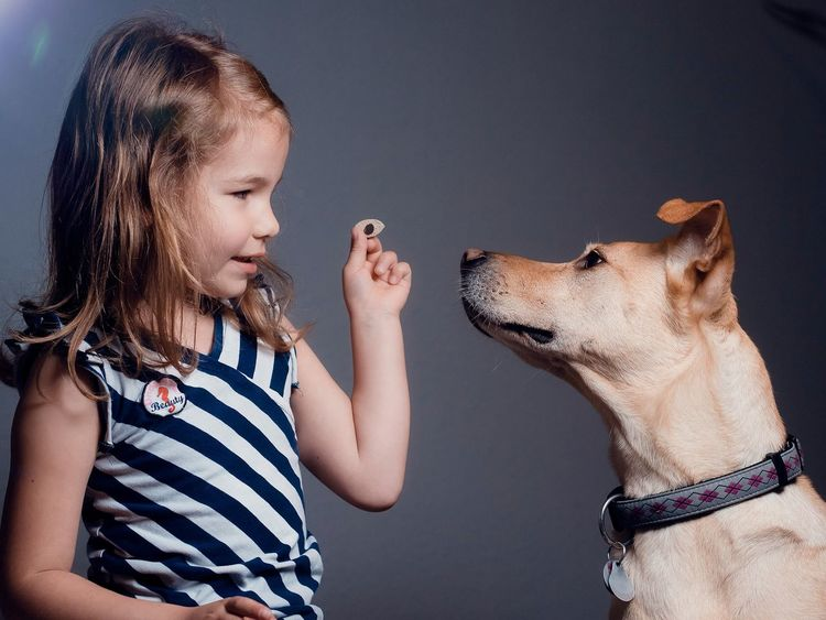 Want this? Dogs And Kids Pet Portraits