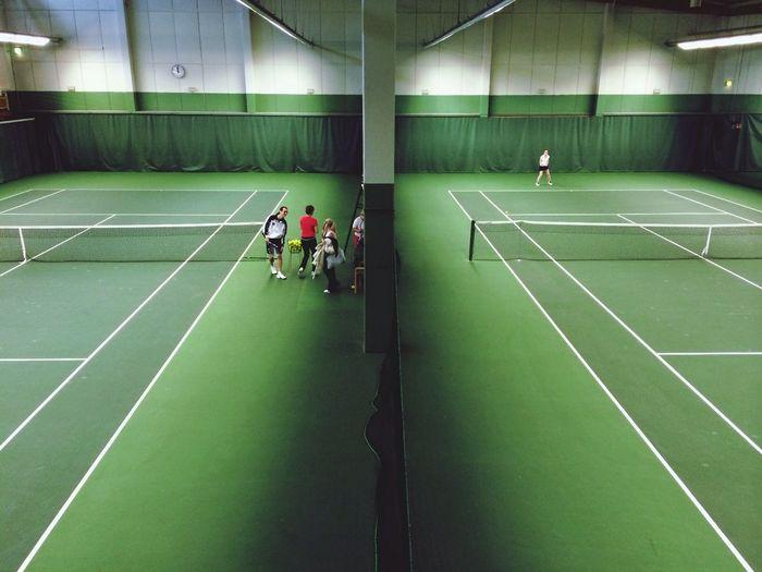 Tennis, Tali, training Urban Geometry