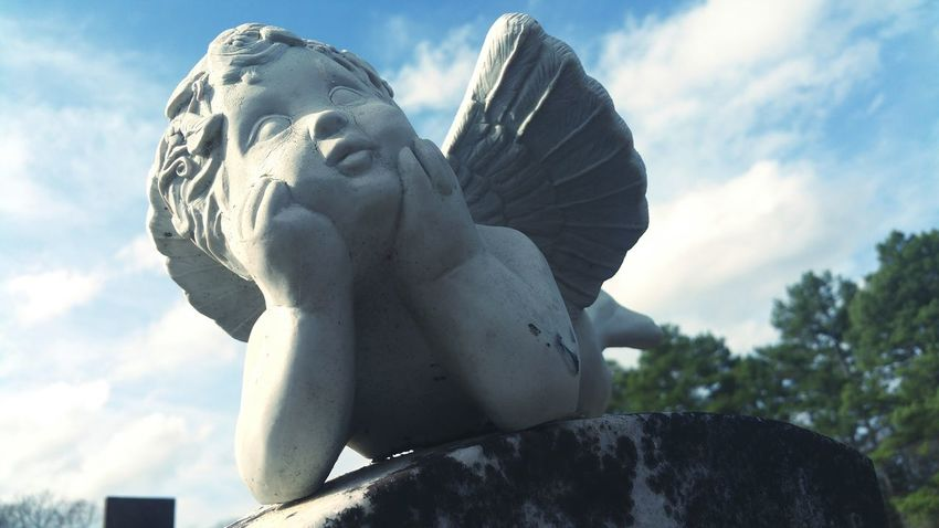Statue Angel Angels Angelstatue Sky Skyporn Sky_collection Sky And Clouds Sky_collection Sky Porn Graveyard Beauty Graveyard Collection Graveyardbeauty Graveyardlurking Graveyard Graveyards Graveyardphotography Graveyardporn