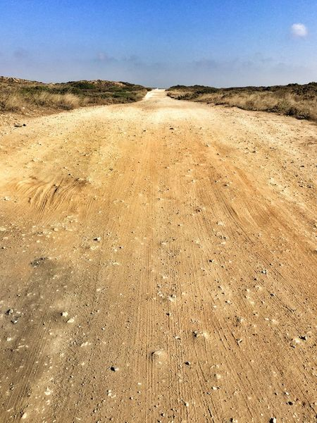 Dirt Road Sandy Empty Road On The Road Costa Vicentina Algarve Bring Me The Horizon Portugal_lovers Portugaligers Wu_portugal