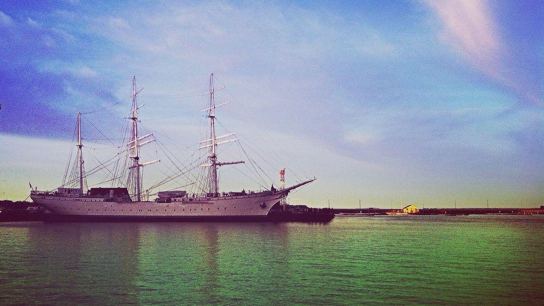 Gorch Fock Stralsund  Ostsee Ship Habour