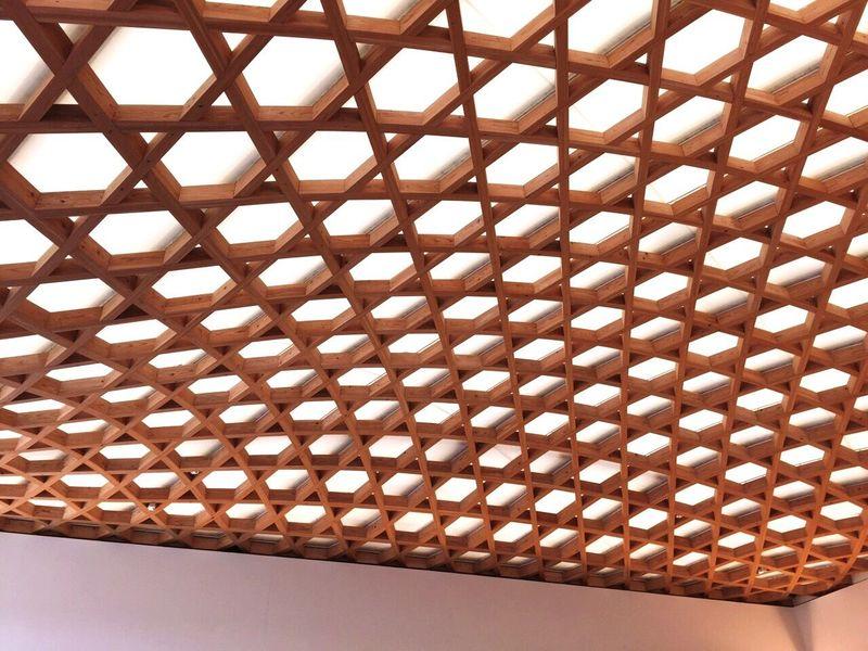 大分市美術館 Pattern Full Frame Indoors  Backgrounds No People Architecture Day Close-up Architectural Design Oita Oita,japan Artmuseum