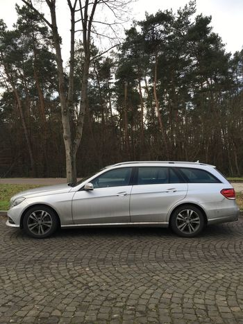…taking this E220 to Germersheim!