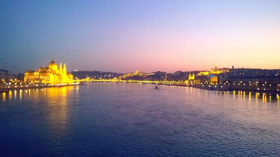 Hungary Parliament Parlament Duna Danube River Danube Margit Hid Donau Budapest Budapest, Hungary River Twilight