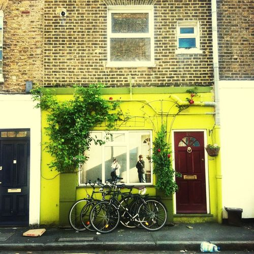 Building Bicycle London Loves Pretty Doors