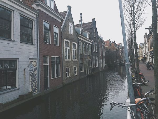 Building Exterior Architecture Canal Transportation City Built Structure Travel Destinations Gondola - Traditional Boat Water Mode Of Transport Cultures Outdoors Sky Day No People Gondolier Adults Only City IPhone Photography Vscocam IPhoneography Adult Dutch Holland
