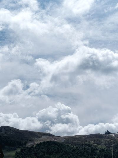 Beauty In Nature Cloud - Sky Day Landscape Mountain Nature No People Outdoors Scenics Sky Tranquil Scene Tranquility