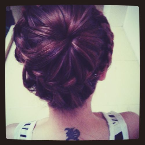 my braid *_* Bunhead Braids Hairstyles Beautiful ♥ #girl