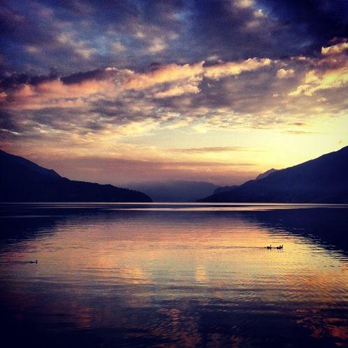 EyeEm Como Lake Sunset Water_collection