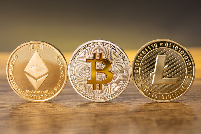 AWARD Bitcoin Close-up Colored Background Day Ethereum Finance Gold Gold Colored Indoors  Ingot Litecoin No People Shiny Studio Shot Wealth Yellow