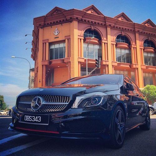 Mercedes Mercedesbenz Aclass W176 A250 Sport engineered by AMG AclubMalaysia ClubAKlasse ig_mbenz DBS343