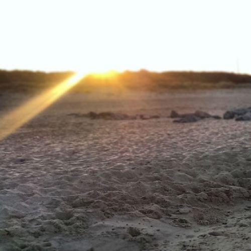 Caister Caisteronsea Sunset Sunrays beach sand seaside instagram instapic htc1 htcone