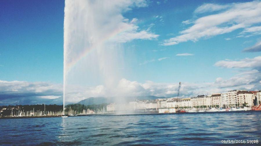 Genevafountain Geneva Lake Switzerland Throwbackthursday