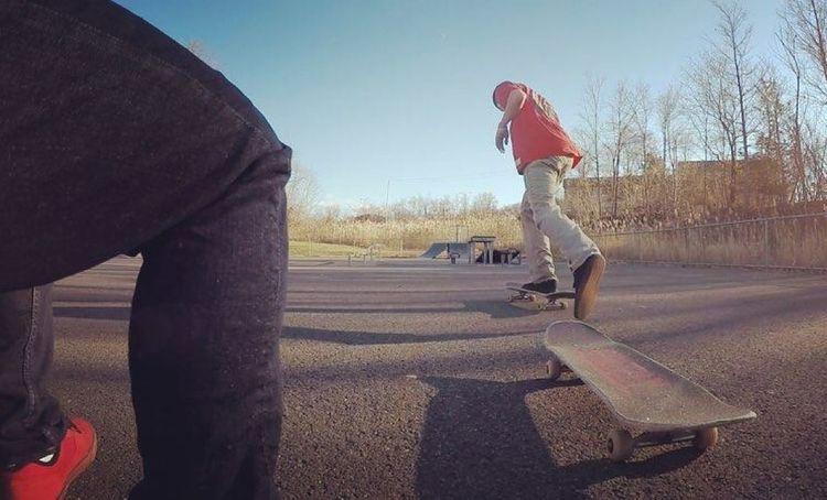 Skateboarding is fun Skateboarding Skate Skatelifestyle Skatepark Goprohero4
