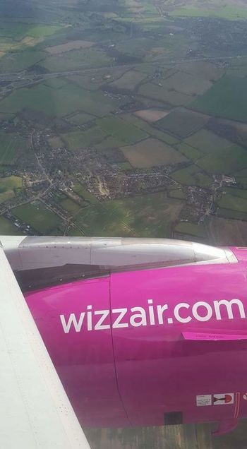 Wizzair window watch Wizzair Flying Brand Engine Aeroplane Window View From Above View Flight Wings Wizzair .com