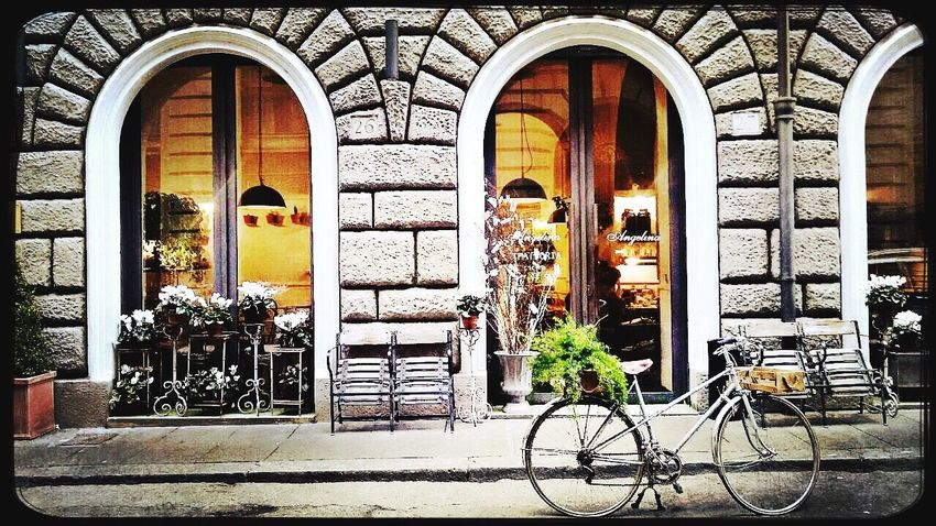 Vintage Bistrot Roma Bycicle