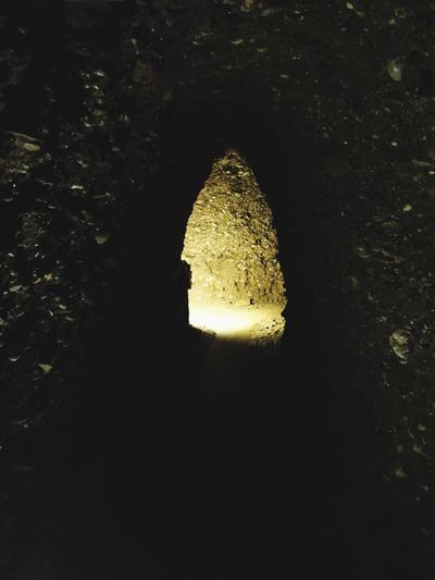 Tunnel Tunnel Vision Pyramid Of The Sun Visoko Bosnia And Herzegovina Pathway Fork In The Road Light At The End Of The Tunnel