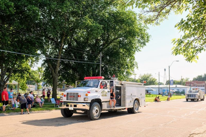 Old Settlers Picnic - Village of Western, Nebraska July 21, 2018 Always Making Photographs Americans Camera Work Community Event Fire Engine Getty Images Photo Essay Rural America Village Of Western, Nebraska Visual Journal Watching A Parade Architecture Car City Day Eye For Photography Fire Truck Fujifilm_xseries Group Of People Incidental People Land Vehicle Long Form Storytelling Men Mode Of Transportation Motor Vehicle My Neighborhood Nature Old Settlers Picnic Old Settlers Picnic 2018 Outdoors Parade Photo Diary Plant Real People Road S.ramos July 2018 Small Town Stories Street Sunlight Transportation Tree Truck Volunteer Fire Department